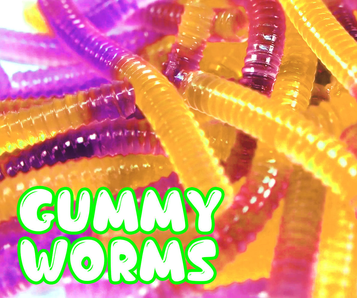 DIY Gummy Worms - Jelly Worms Recipe !!