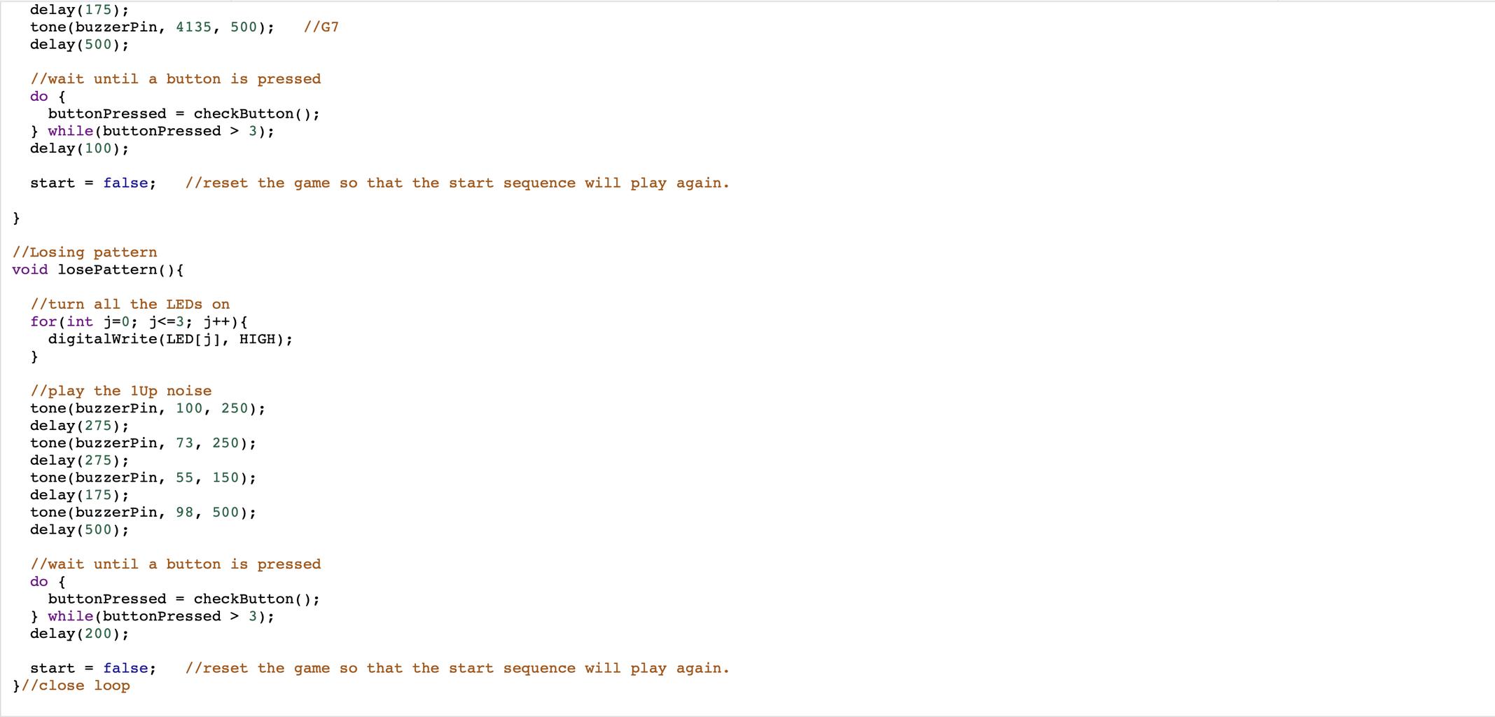 Code Step 6