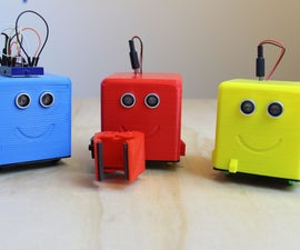 小机器人:简单的3D打印Android Arduino机器人