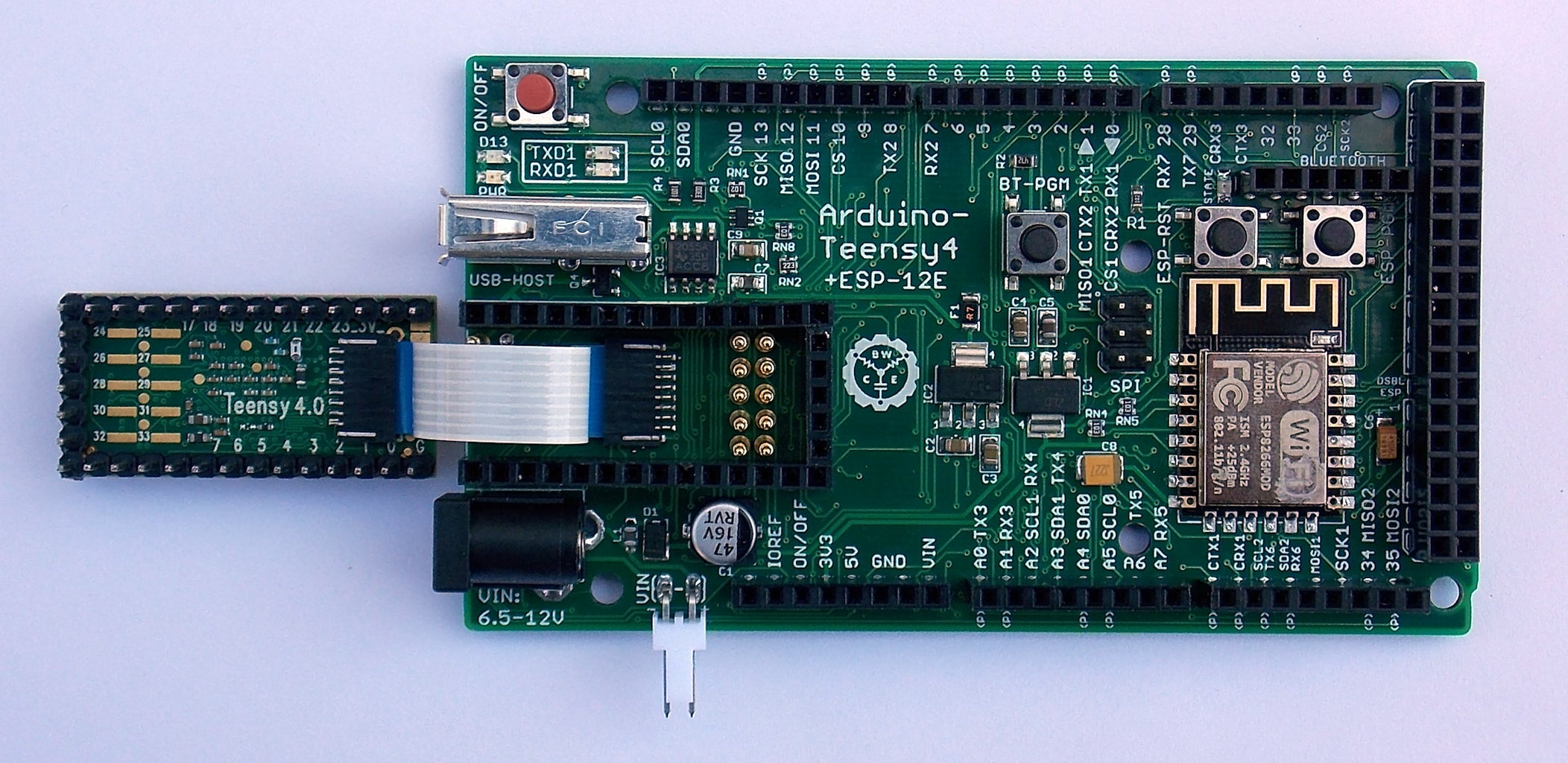 Connect Flatflex to Teensy and Install in Socket