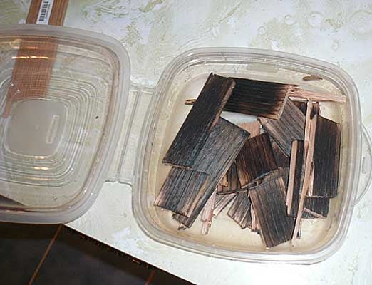 Recycle Scrap Wood for the Enhancement of Spirits.