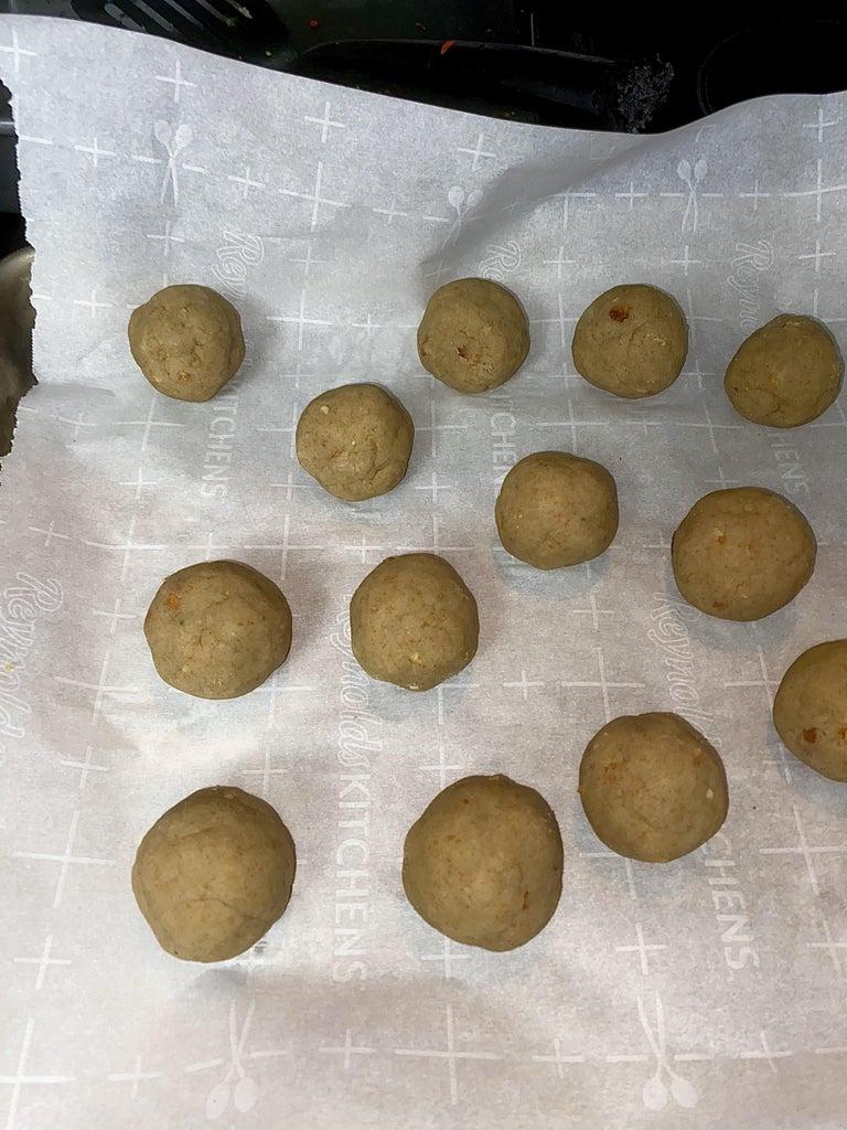 Form the Cake Balls