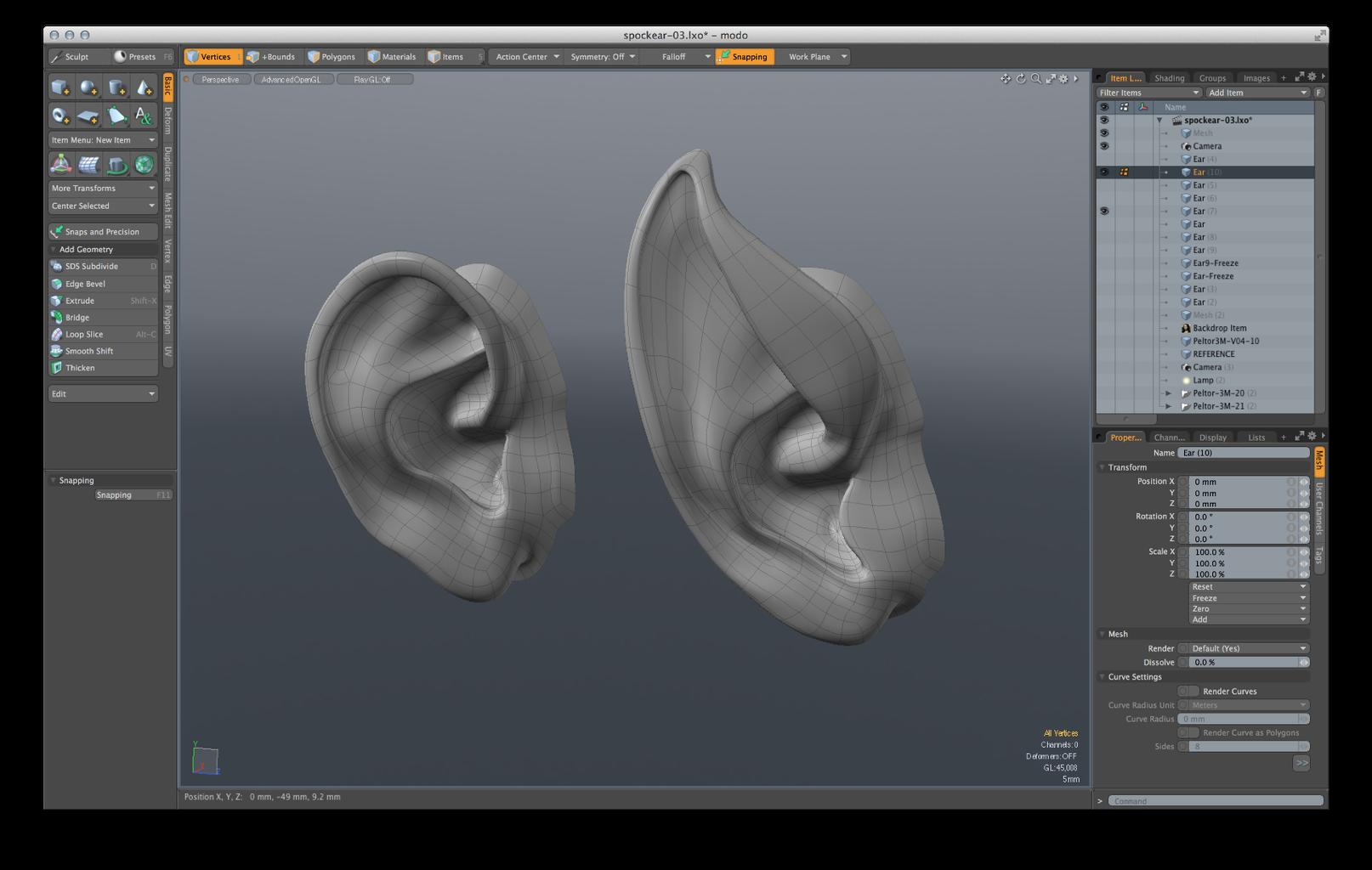 Model the Ear