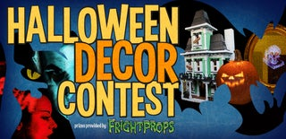 Halloween Decor Contest 2015