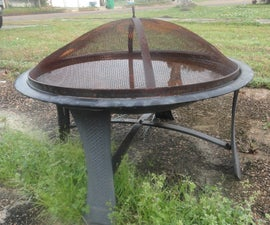 Putting Drain Holes in a Fire Pit