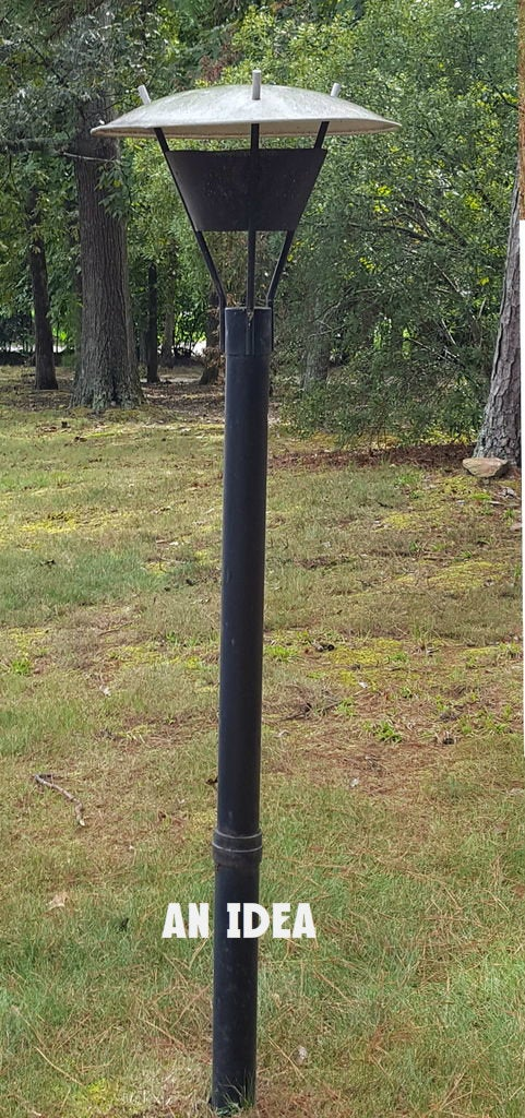 Awesome Mid Century Modern Lamp Post, Mid Century Modern Outdoor Light Post