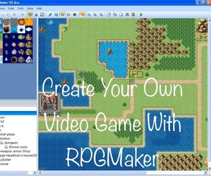 使用RPGMaker创建计算机游戏
