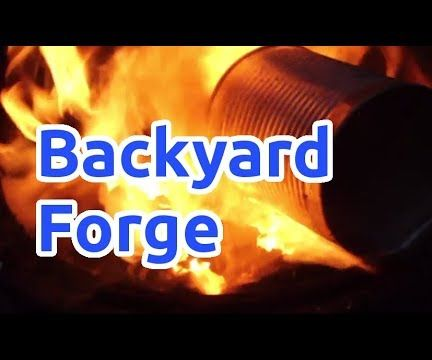 Melting and Casting in a Backyard Forge