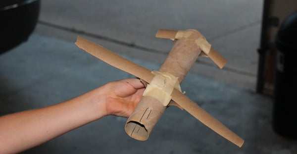Easy-to-make Cardboard Plane!