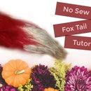 Easy No Sew Fox Tail