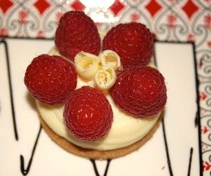 Mini White Chocolate Cheesecake