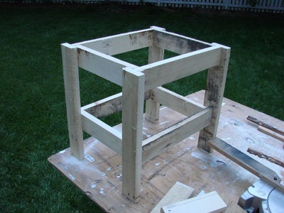 Completing the Table Frame