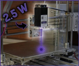 Convert Any 3D Printer to Laser Engraver
