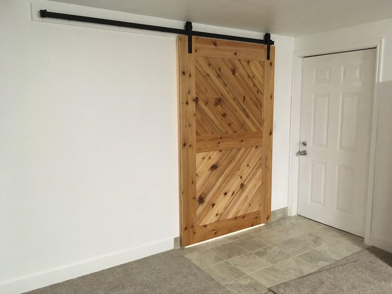 Cedar Barn Door
