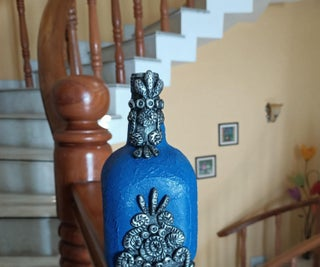 Royal and Antique Wine Bottle