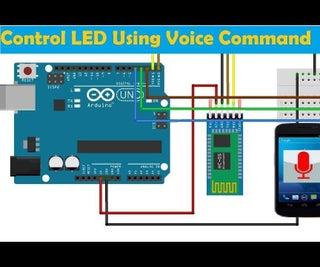 Bluetooth Voice Control LED