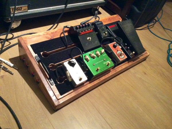 Powered Pedal Board