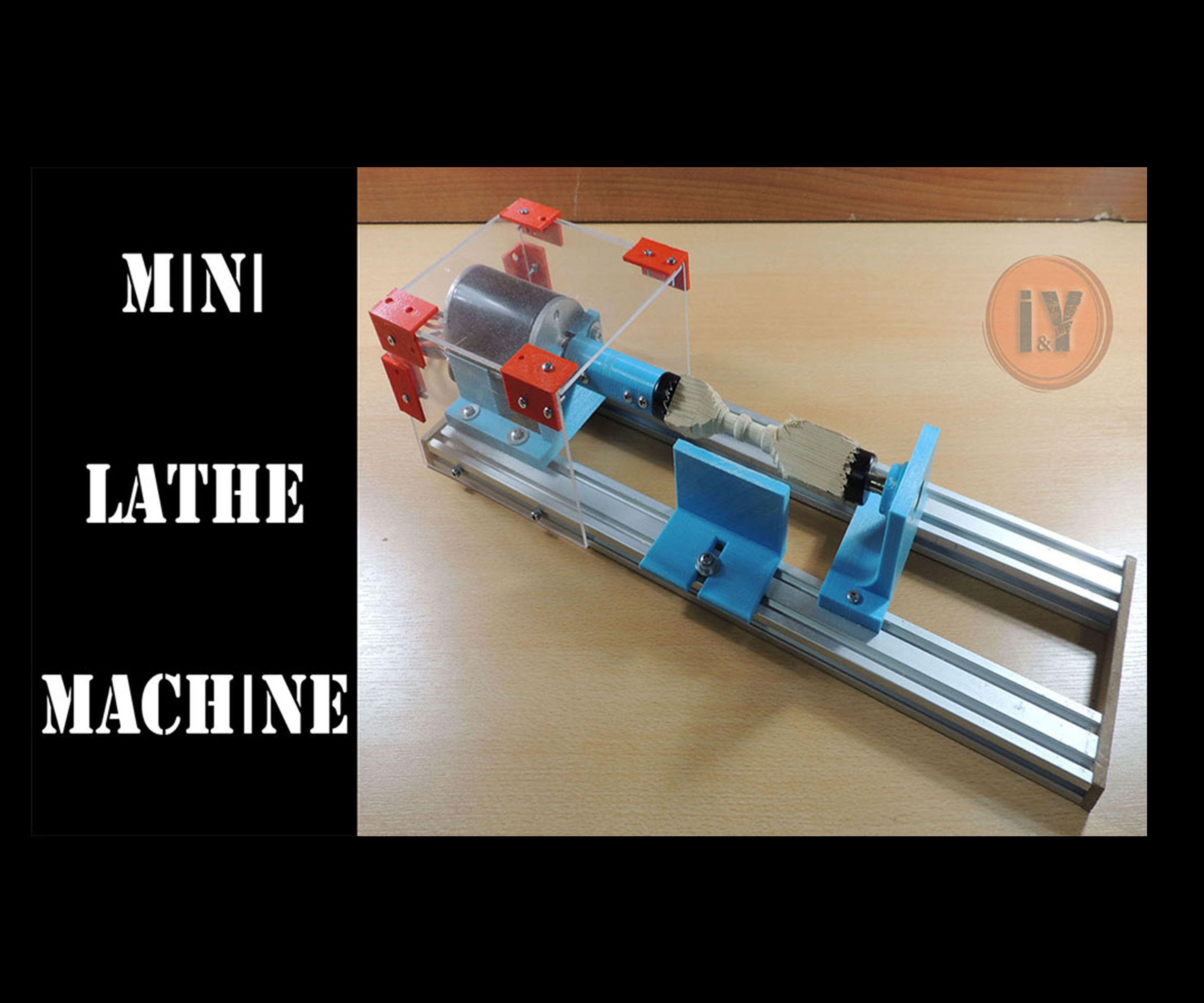 Mini Lathe Machine for Woodworking