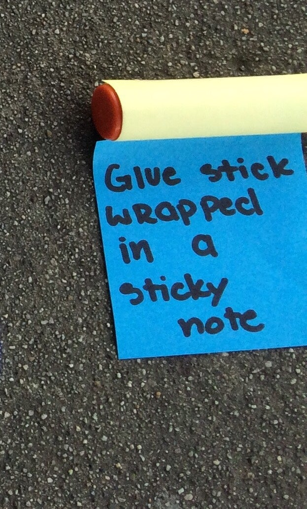 Obtain Your Glue Stick and Wrap the Coil As Many Times As You'd Like.