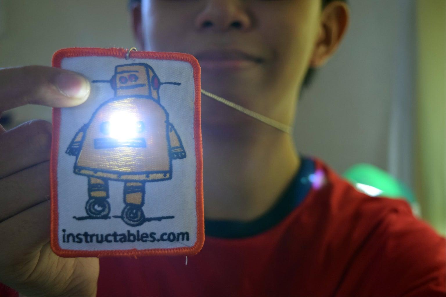 LightBuddy: a Superbright LED Necklace