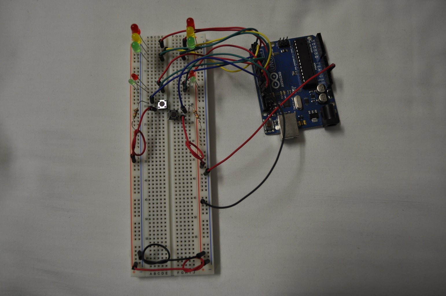 Traffic Lights [Beginner Arduino Project]