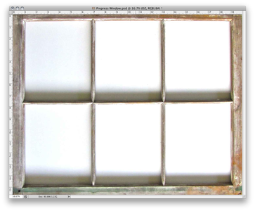 Find or Take a Picture of a Window Frame You Like