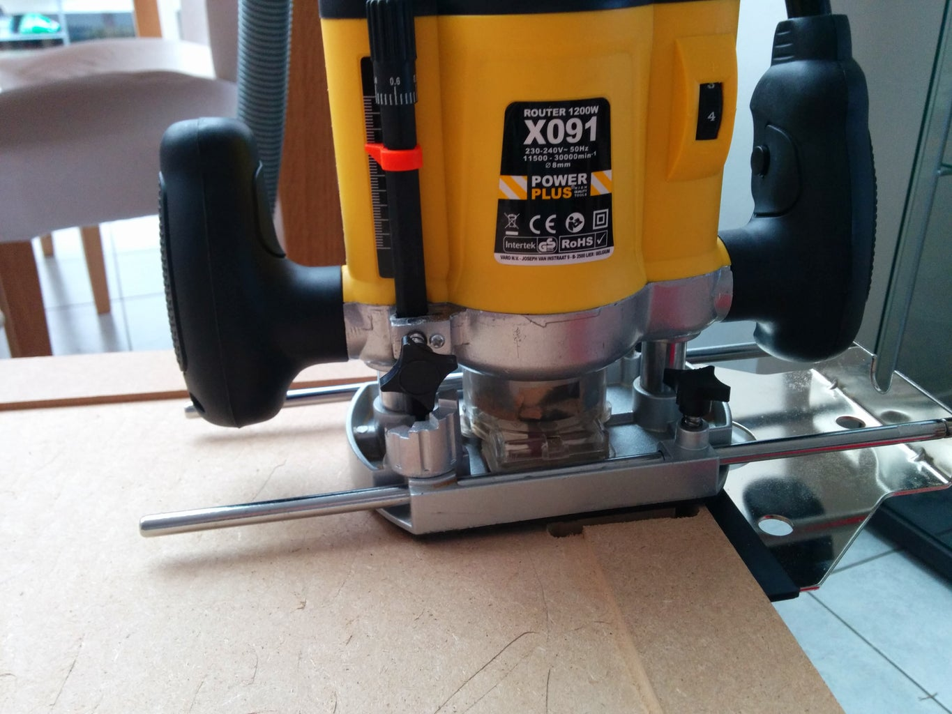 Main Body: Routing and Drilling