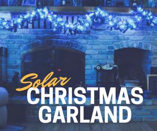 Solar Christmas Garland