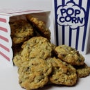 Chocolate Chip Popcorn Drop Cookies