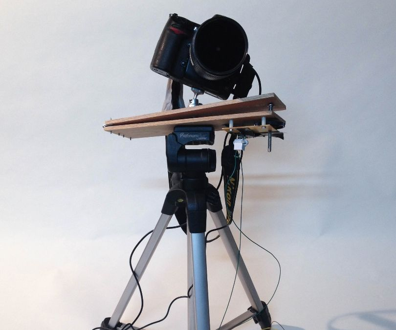 Arduino Powered 'Scotch Mount' Star Tracker for Astrophotography