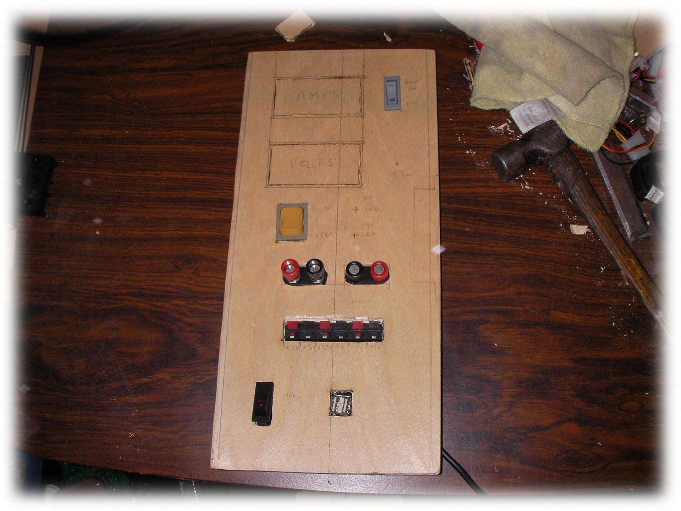 Making the Front Panel