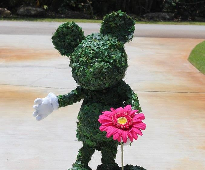 Mickey Mouse Topiary Costume