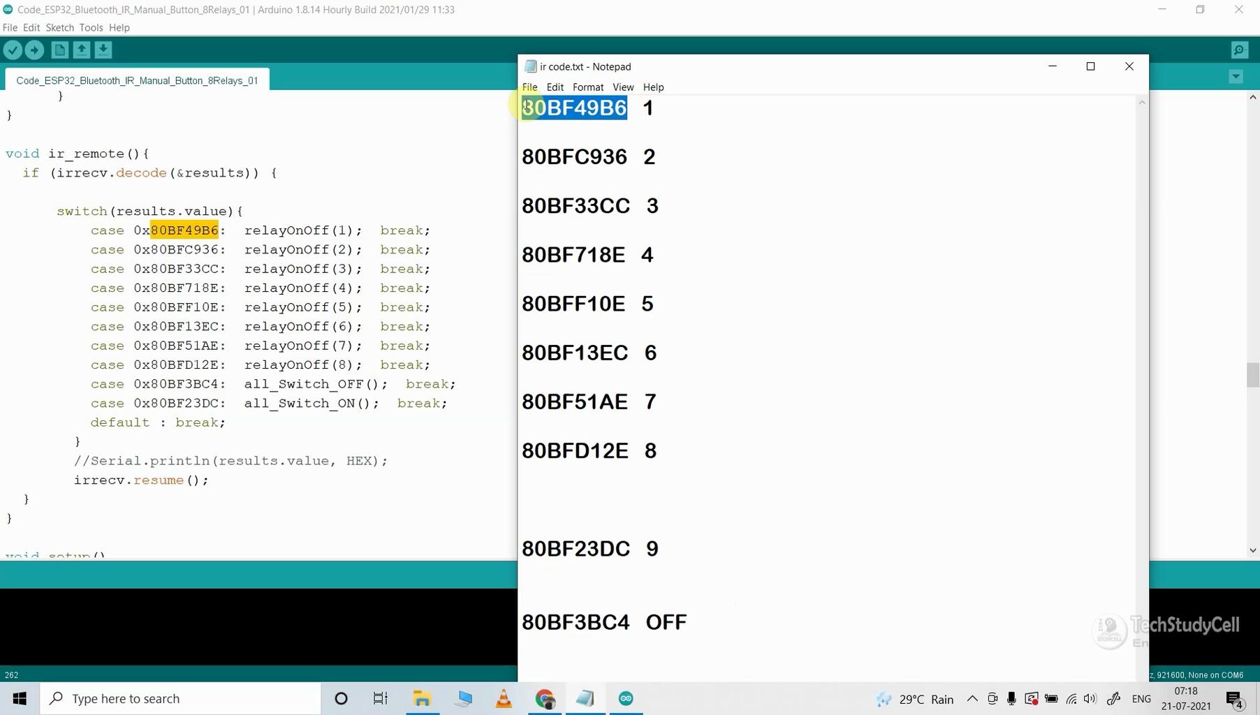Program the ESP32 With Arduino IDE