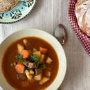 Authentic Hungarian Goulash Soup