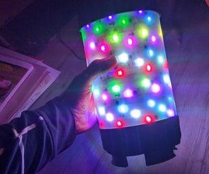 派对蓝牙扬声器与RGB LED