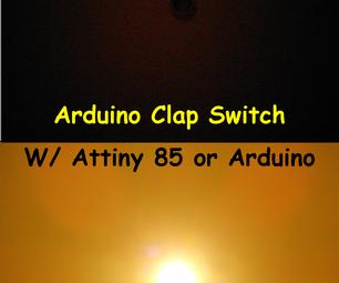 Arduino Clap Sensitive Light Control (The Clapper)