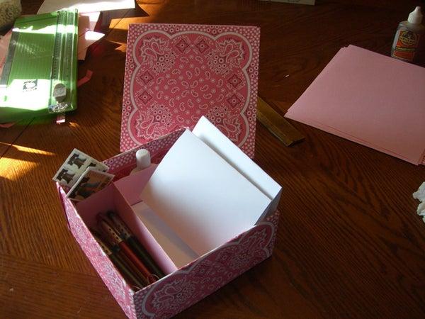 Grandma's Stationary Box