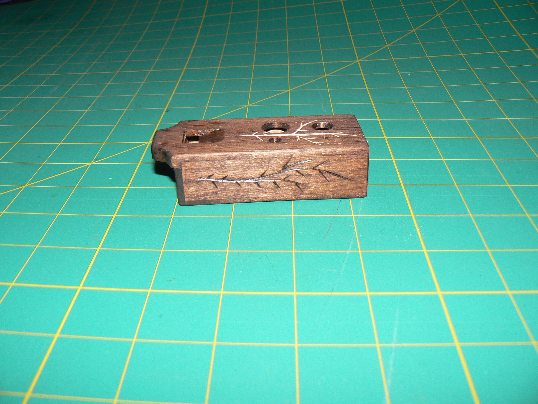 Make an ocarina out of stock sheet wood