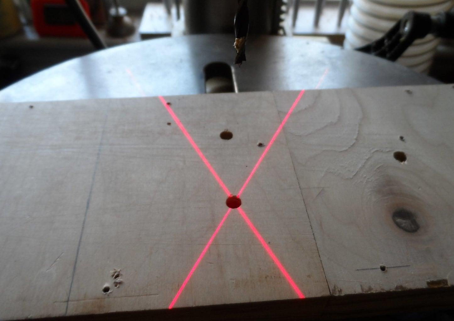Drill Press Laser Guide