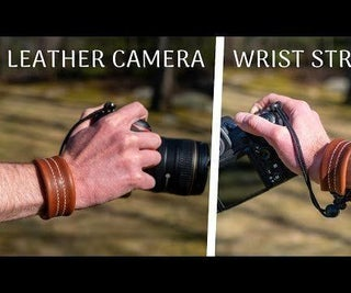 How to Make a Leather Camera Wrist Strap