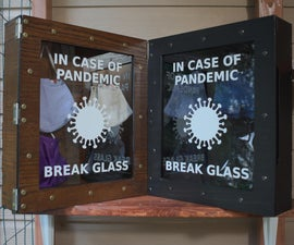 In Case of Pandemic - Mask Storage Case