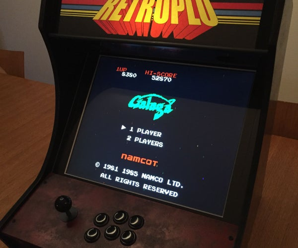 DIY Retro Arcade Bartop for One Player