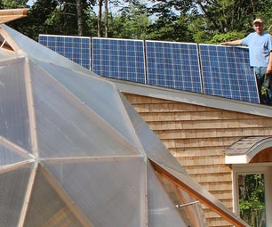 Going Off-Grid in the Aquaponic Geodesic Dome Greenhouse