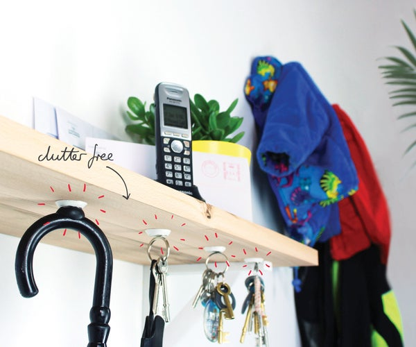 Replace Hooks With Sugru + Magnets