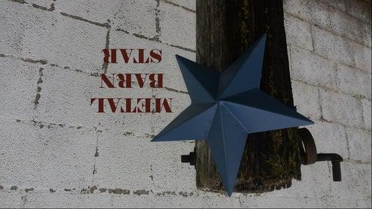Metal Barn Star