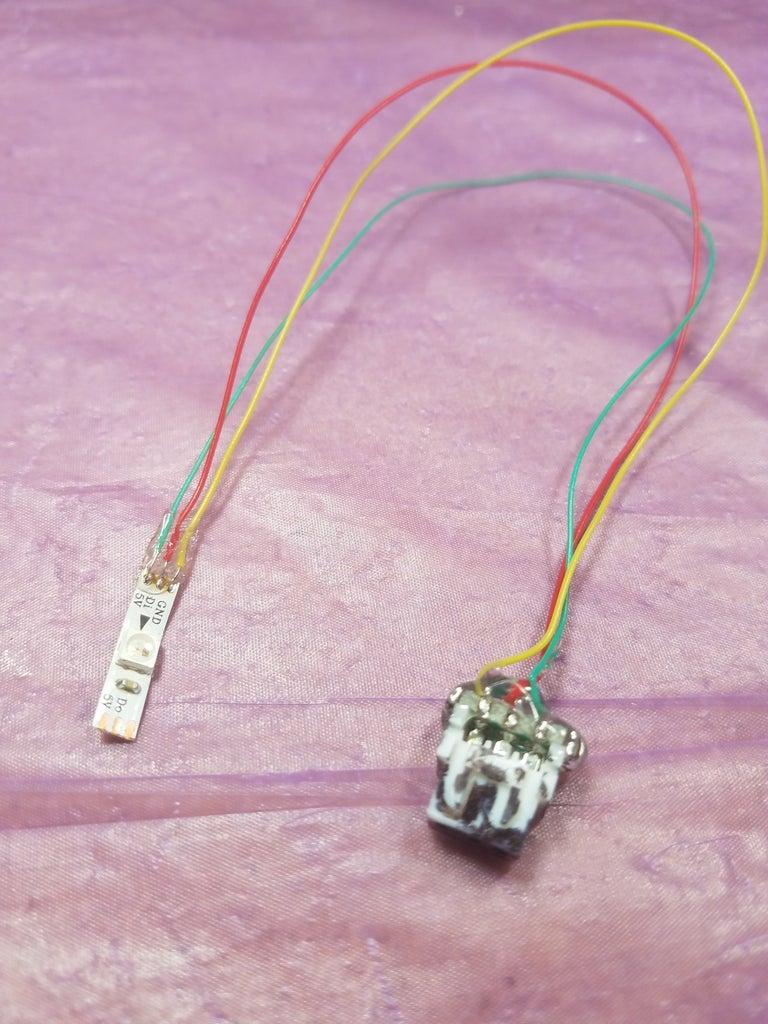 Make Black Connector to LED