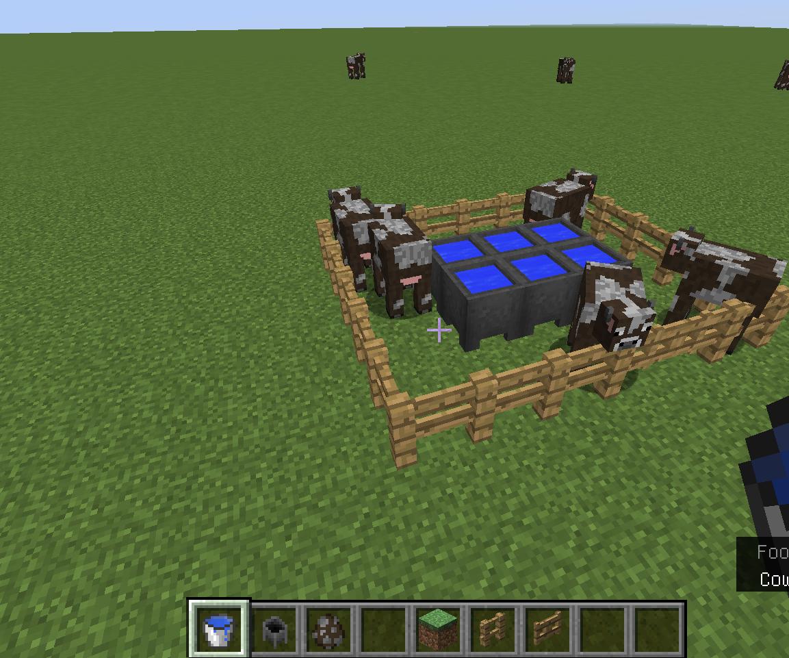 minecraft animal farm