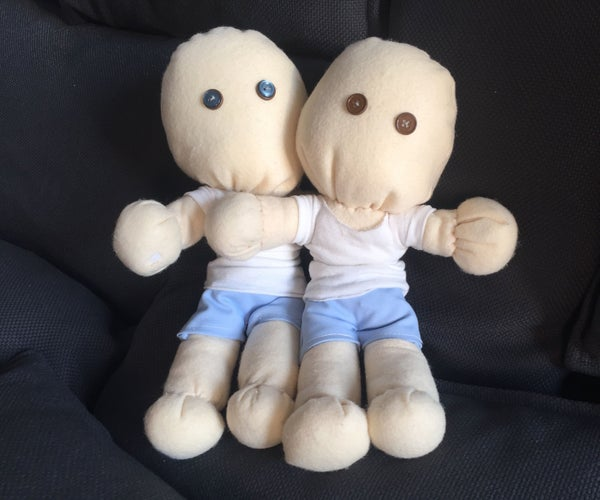 WiFi-Linked Twin Dolls