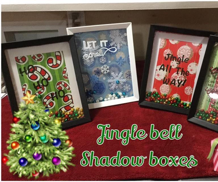 Jingle Bell Shadow Box Gift