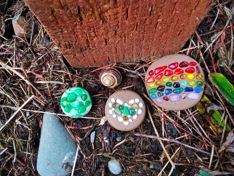 DIY Garden Stones in 3 Super Simple Steps